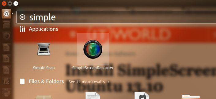 Install SimpleScreenRecorder in Ubuntu