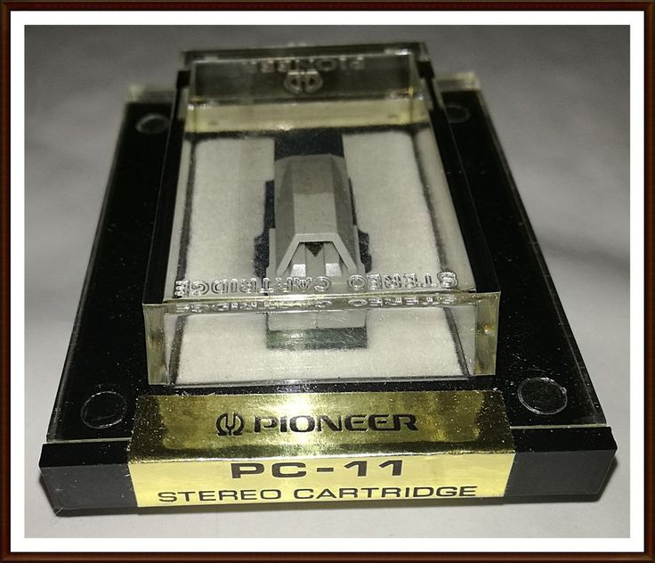 Vintage Pioneer PC-11 Stereo Cartridge and Stylus.  #Pioneer