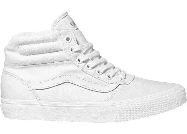 vans shoes white boots