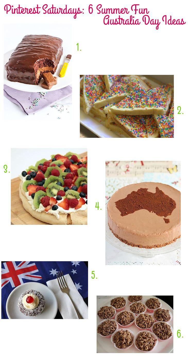 Pinterest Saturdays: 6 Summer Fun Australia Day Ideas on Style for a Happy Home #australiaday