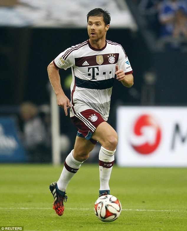 Stellar: Alonso made an impressive debut for Bayern Munich against Schalke, competing the ...
