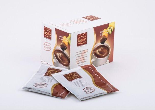 Reybar 30g. Ciocolata calda cu aroma de alune