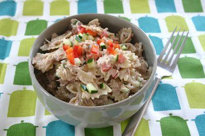 Susie Freaking Homemaker: Tuna Salad: Tuna Pasta Salad