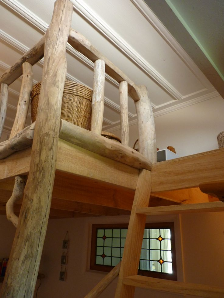 Rustic Driftwood Loft designed by Iris Kouzounian and Douglas Ransom. Builder: Douglas Ransom. www.facebook.com/nobelsteed