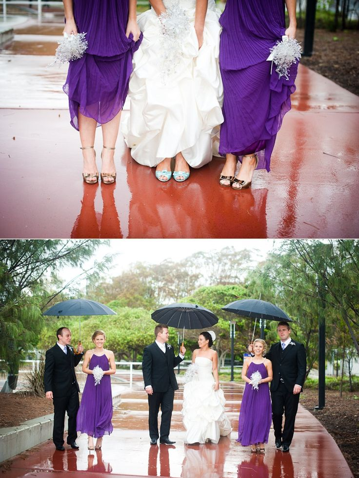 Ideas for rainy day wedding photos. ~Sydney wedding photography by Yulia Photography~ www.yuliaphotography.com.au