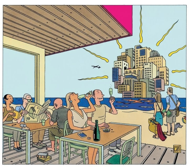 Joost Swarte, cover zomerbijlage VN 2012