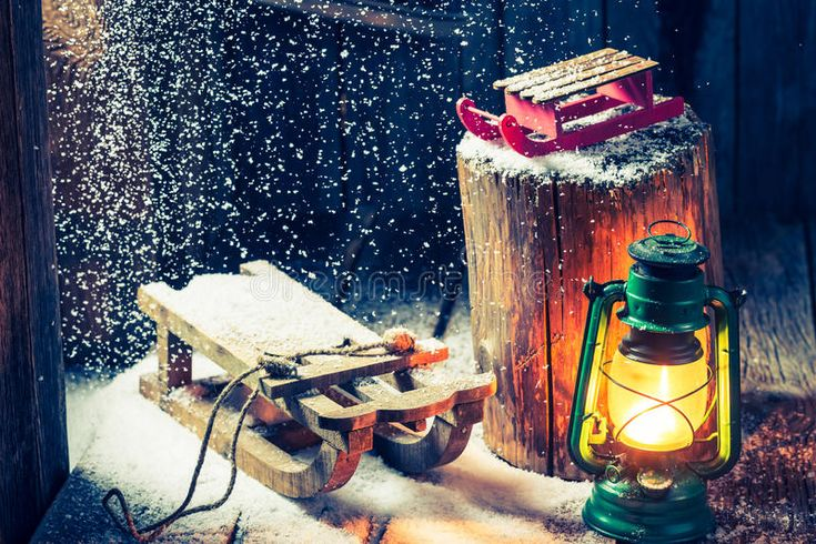 Download Retro Winter Hut As A Philosophy Hygge Stock Image - Image of seasonal, retro: 84420051