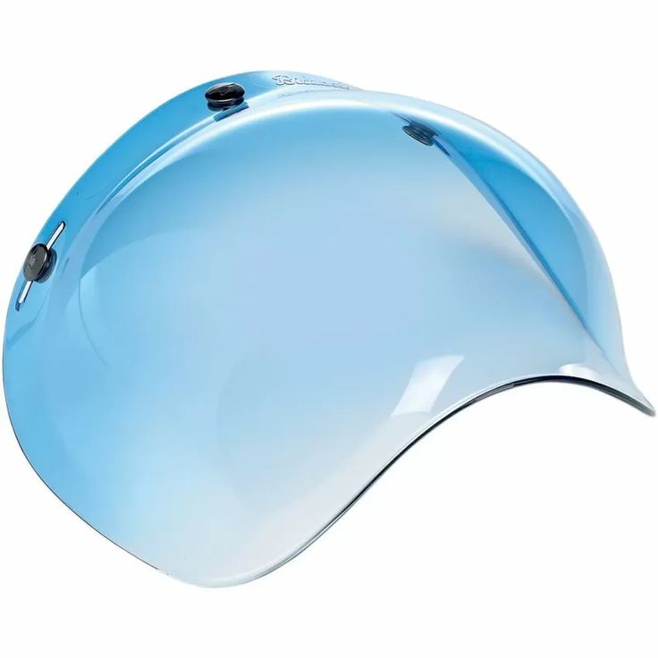 mica tipo burbuja para cascos abiertos. look retro.