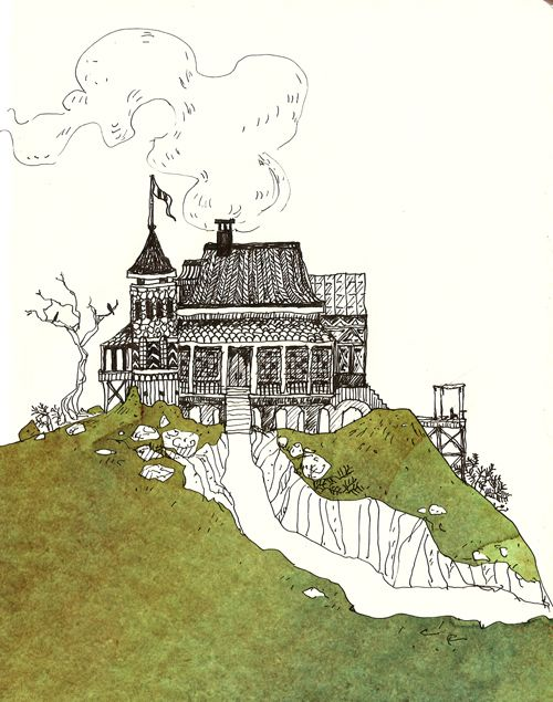 Cool drawing of a house.. I have nothing special to say.