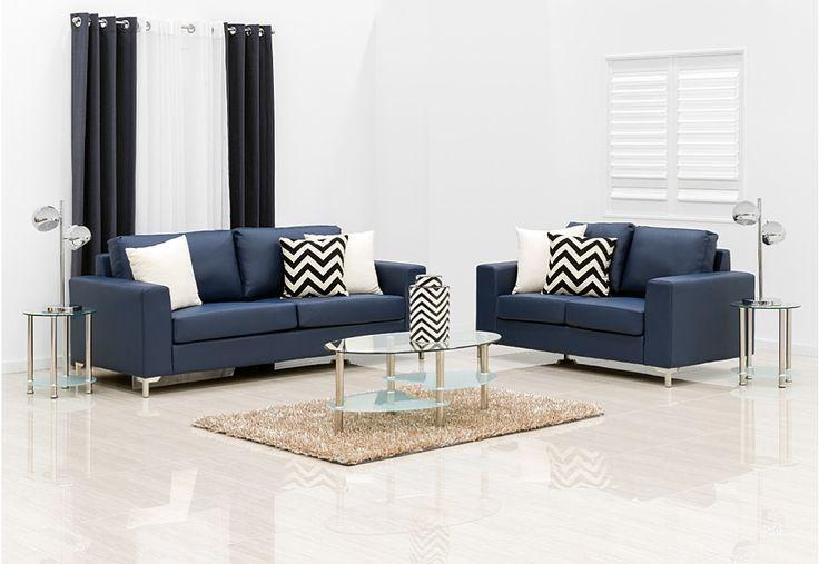 Saddle Sofa Pair | Super A-Mart