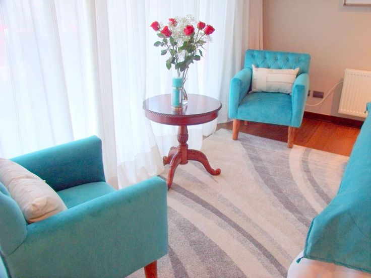 Dormitório Turquesa : Dormitorios mediterráneos de Annita Bunita - Design&Arquitectura Interior