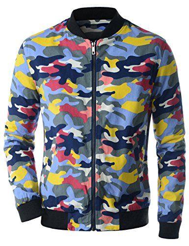 Showblanc (SBCEJ15) Attractive Men Colorful Camouflage Pattern Urbane Blouson BLUE US XS(Tag size L) Showblanc http://www.amazon.com/dp/B01BXWXNG6/ref=cm_sw_r_pi_dp_1P65wb0TVCBP8