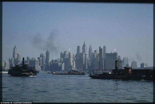 画像】1940年頃のニューヨークのカラー写真 凄すぎワロタ これに戦争挑ん ...