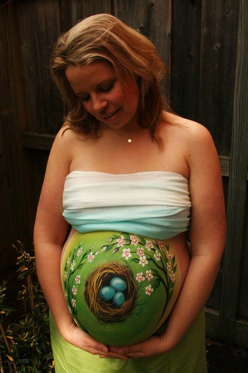 Pregnant Belly Painting- Tatyana's Face and Body Art-1.JPG                                                                                                                                                      More