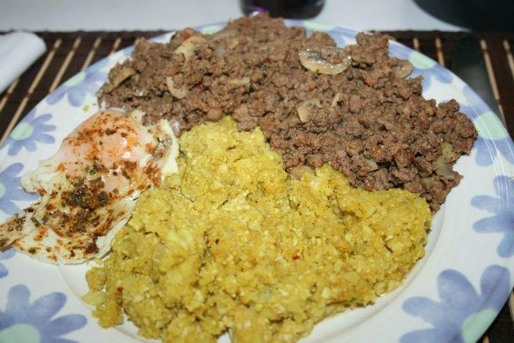 """Receita Cauliflower rice - Indian style """" Arroz de couve flor estilo indiano """" por Cila Silva - Categoria da receita Acompanhamentos"""