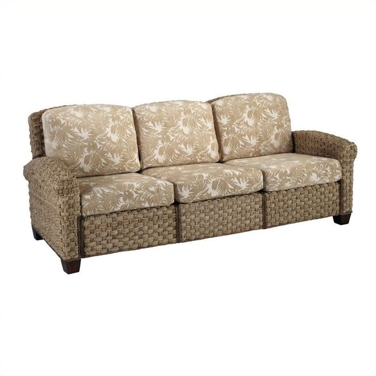 Lowest price online on all Home Styles Cabana Banana II Three Seat Sofa in Honey Finish - 5403-61