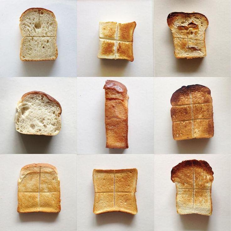 breads...#パン9 ポストしてない食パン 最近撮る前に食べてしまう事が多く少し時間差があるのもありますがシニシニが美味しすぎて久々まとめてみました 左上から #まちのパーラー レーズン酵母食パン小麦の味も生地のピチムチも最高 #ペリカン 1斤サイズ3斤サイズと形が同じですが1斤サイズを厚切りした方が生地を楽しめておすすめitonowaさんや他カフェが1斤サイズで提供されるのも納得 #アミーンズオーブン 伊予柑トーストそのままよりも厚切りでトーストの食べ方が私的最高吉祥寺アトレで買えます #シニフィアンシニフィエ 新麦パンドミ(伊勢丹催事限定) 美味しすぎて危うく次女が夕食後に1斤瞬殺しそうに小麦の甘みに生地がふわっとしてるのに程よくピチーって涙 #ブーランジェリースドウ ハニートースト1カ月待ちの食パンが買えないからせめてその食パンで作られたやつを買うやつ #ヴィロン パンドミセントルの食パン軍の方が完成度高いけどこれも全然美味しいっ渋谷店お昼前ぐらいに焼きあがりだったはず #ゴントランシェリエ…