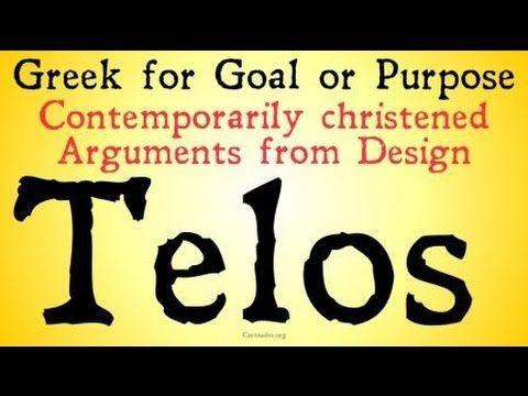 Teleological Arguments for the Existence of God - YouTube