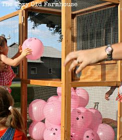 Pigs in the Pen game.  LOVE this, but not sure how to get it to work in our setting...