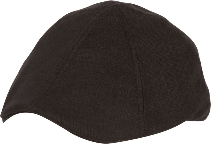 """- One Size ( 23"""" Circumference x 4.5"""" Deep Crown x 2"""" Brim ) - Features textured linen fabric, attached bill, rear elastic and full lining. - Modern fitted linen newsboy cap inspired by vintage fashio"""