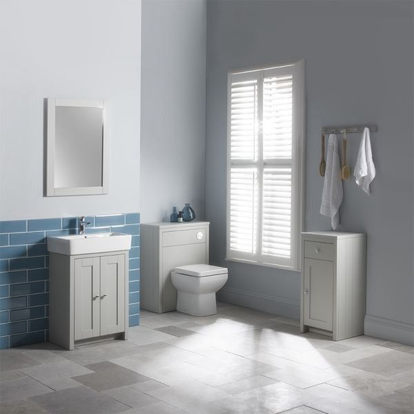 Tavistock Lansdown Pebble Grey Vanity Unit 550mm   Traditional Vanity Units    Vanity Units   Bathroom. 17 Best ideas about Grey Vanity Unit on Pinterest   Small grey