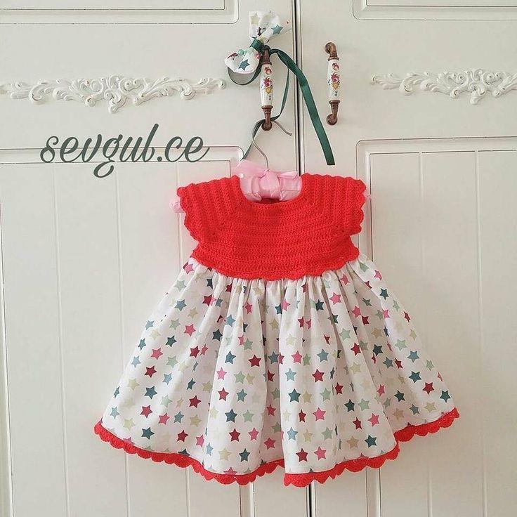 Adorable robe fille avec son bustier et son pas à pas en images gratuits !