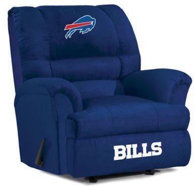 #ad #nfl #football #nflplayoffs NFL Buffalo Bills Microfiber Big Daddy Recliner