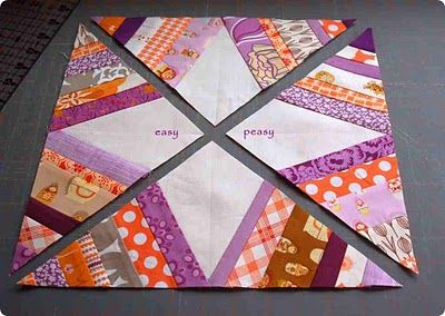 Spider Web quilt block - Tutorial. I loved it so much I bought the papers and template to make it.