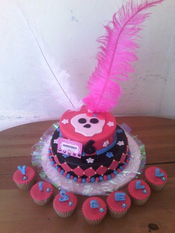 Torta monster higt niña