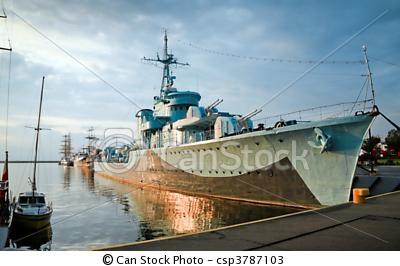 Lightning - Destroyer Ship in Gdynia #gdynia #poland