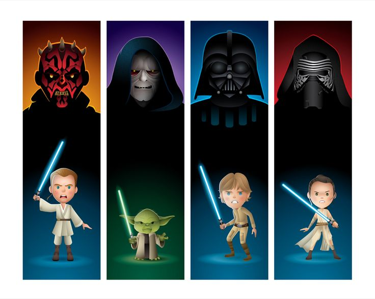 THE DARK SIDE AND THE LIGHT - new Star Wars art for Disney's WonderGround Gallery (Disneyland location). I'll be there Saturday, May 7 3-5pm. Come say hello! http://disneyparksmerchandise.com/events/artist-signing-with-jerrod-maruyama/?instance_id=