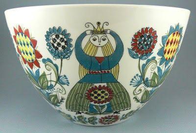 Keramikk: Figgjo Flint Saga Bowl
