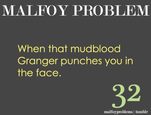 Malfoy Problems • joshisnotadisneyprincess