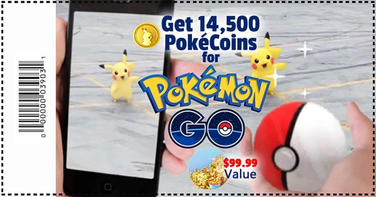 Get your Pokécoins - (1) per person