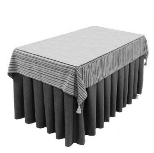 ¿No sabes cómo hacer una falda para mesa camilla rectangular? Aquí te damos ideas y patrones para solucionar este problema.
