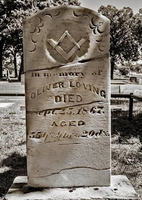I took this photo of pioneering rancher and cattle driver Oliver Loving's grave in Weatherford last October. Loving, along with Charles Goodnight, founded the Goodnight-Loving cattle trail. Loving was mortally wounded by Indians and his death and...