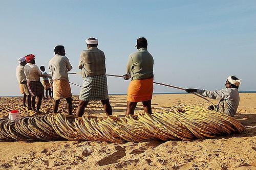 Fishermen, Varkala