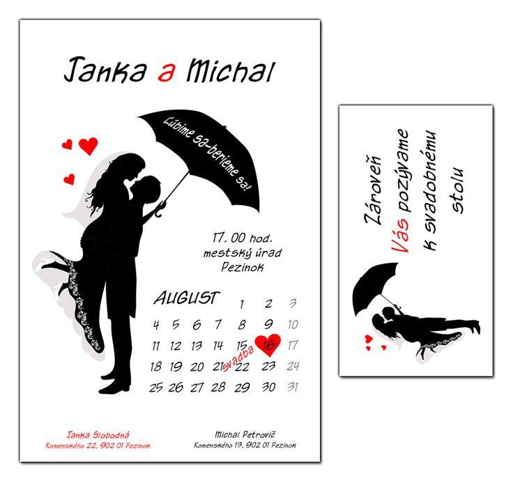 Svadobné oznámenia a pozvánky | JAMA