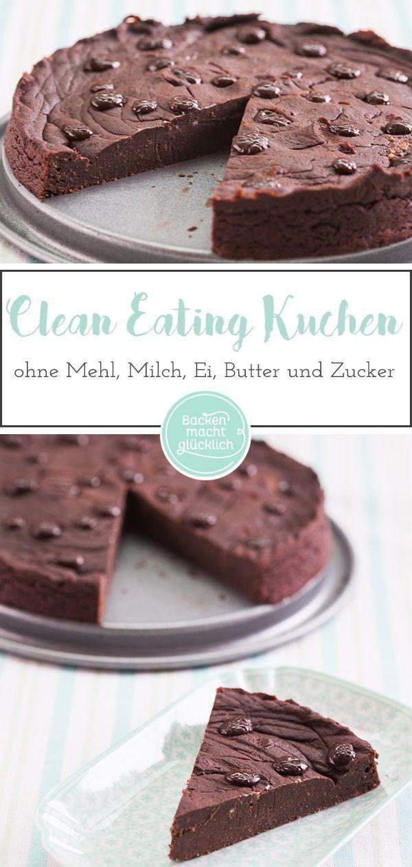 Clean Eating Schokoladenkuchen