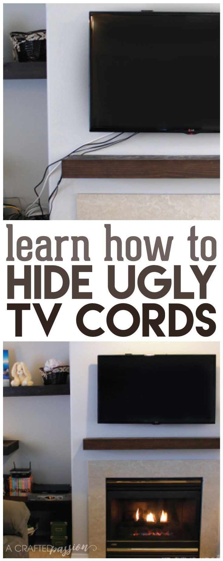 17 best ideas about hide electrical cords on pinterest for How to hide electrical cords on wall