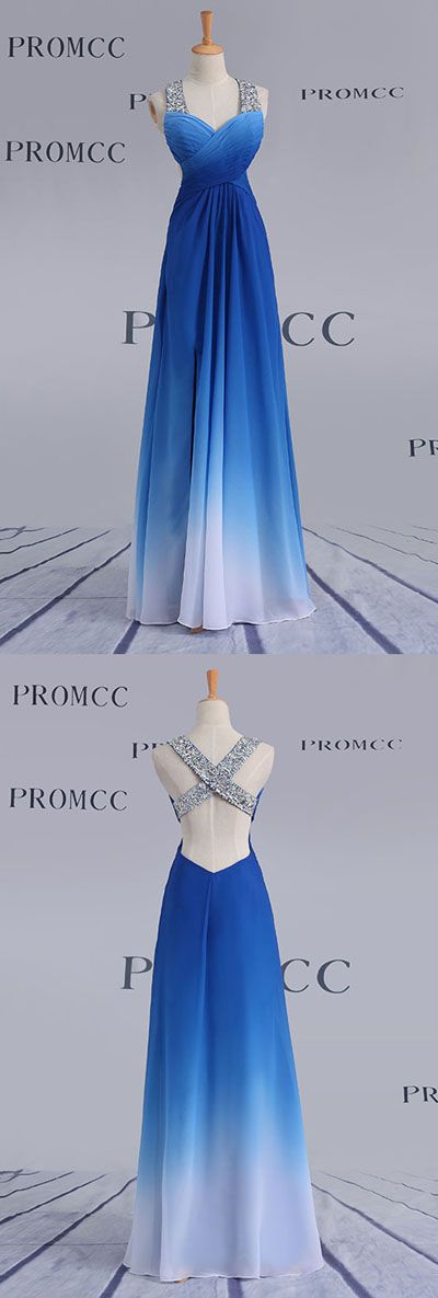 Ombre A Line Floor Length Sweetheart Sleeveless X Back Sparkle Prom Dress,Formal Dress O12 #LongPromDresses, #CheapPromDress, #PartyDresses, #PromGowns, #GownsProm, #EveningDresses, #CheapPromDresses, #DressesforGirls, #PromDressUK, #PromSuit, #PromDressBrand, #PromDressStore, # Party Dress #GraduationDress #longbridesmaiddress, #2017 bridesmaiddress, #weddingpartydress, #bohobridesmaiddress, #maxidress, #ChiffonBridesmaiddress, #ElegantBridesmaiddress, #CheapBridesmaiddress, #weddingideas