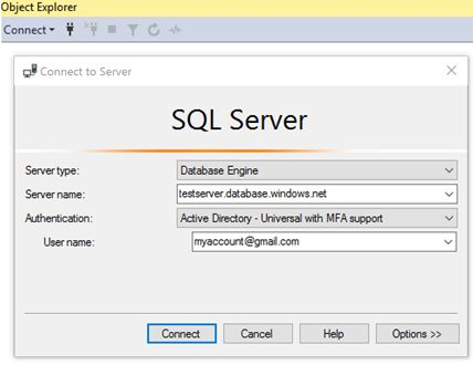 Azure AD authentication extensions for Azure SQL DB and SQL DW tools