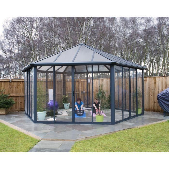 Tonnelle Autoportante Fermee Garda 23 4 M Aluminium Et Polycarbonate Palram En 2020 Abri De Jardin Kiosque Jardin Jardins
