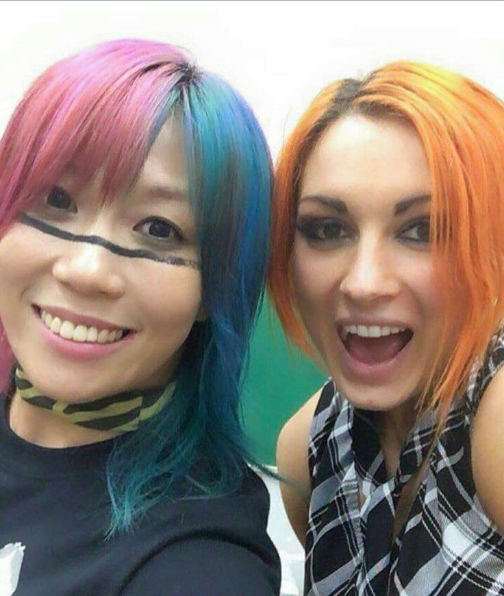 The Empress of tomorrow Asuka & the Lass Kicker Becky Lynch