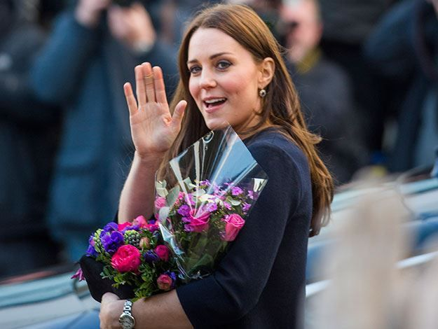 Duchess Catherine makes first public appearance of 2015