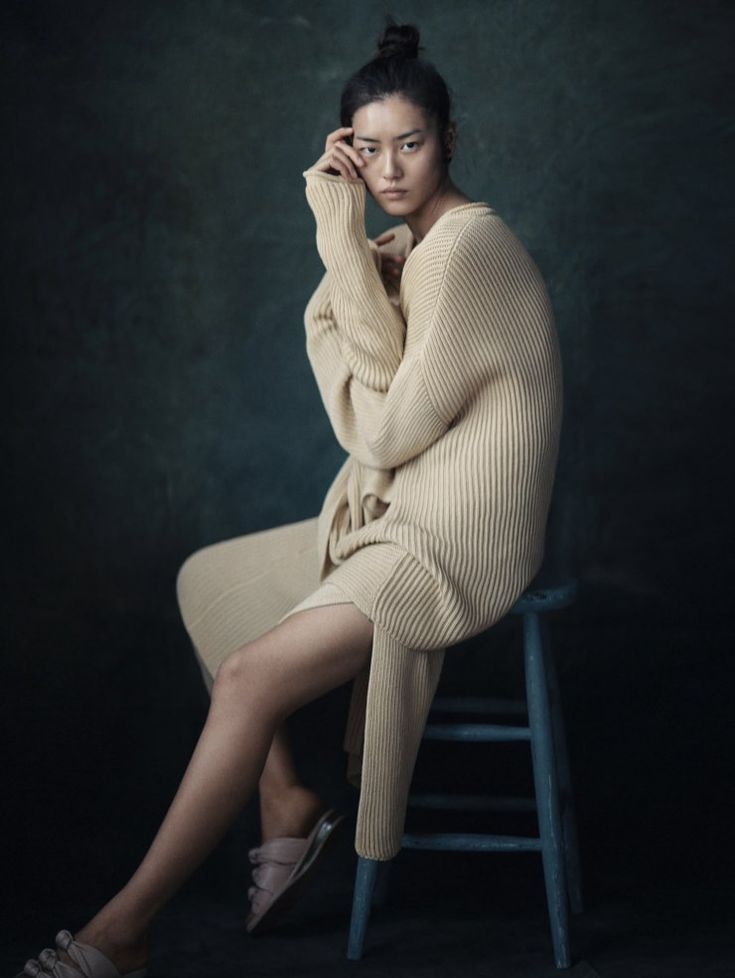 Liu Wen by Boo George for Vogue China April 2015