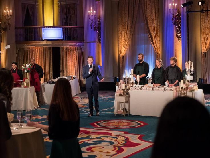 See what Bobby Flay, Giada De Laurentiis and the finalists are up to between take while on the set of Food Network Star.