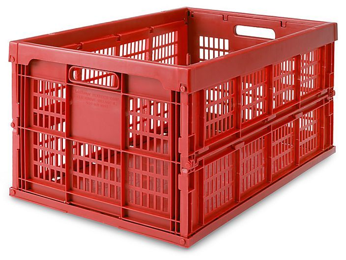 Collapsible Milk Crates - 22 x 14 x 11""