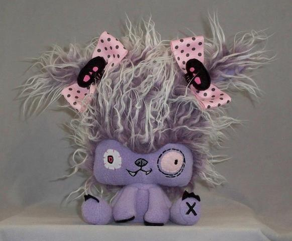 Quill Stormchaser! Half Vampyre and half Zombie. #Vamplets #Plush