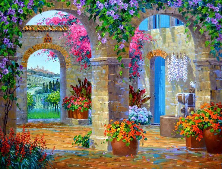 Miki Senkarik. Glimpse of Tuscany